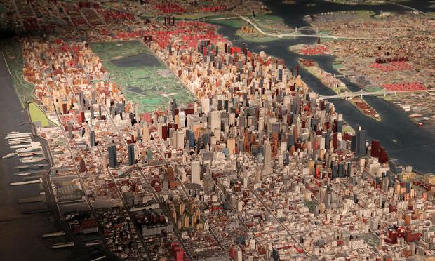 Shreddability Forecast: High. This Friday, the Queens Museum of Art will map all of NYC's top skate spots on its 3-D panorama.