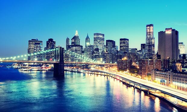 Lower Manhattan skyline, New York City