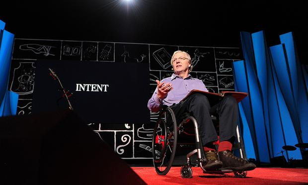 John Hockenberry at TED2012 on March 2, 2012.