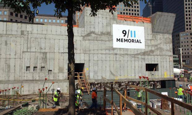 The 9/11 Memorial Museum in Manhattan.