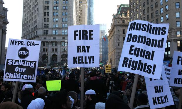 muslim, mosque, protest, anti-muslim, NYPD