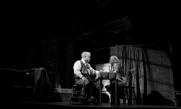 Philip Seymour Hoffman and Linda Emond in Arthur Miller's 'Death of a
