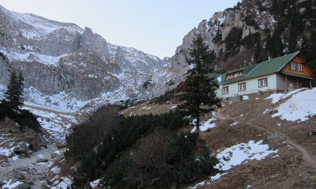A mountain hut in Romania