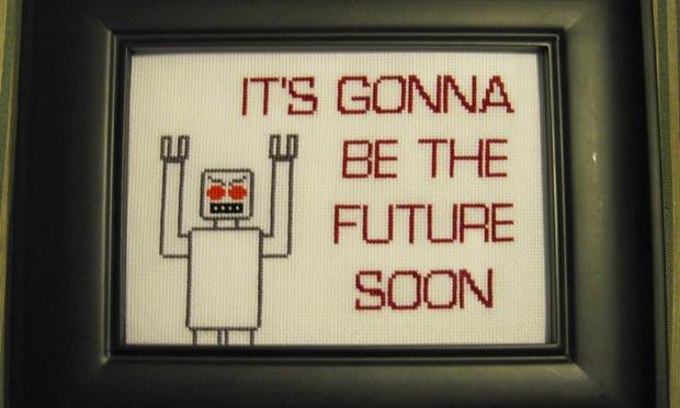 robot needlepoint future