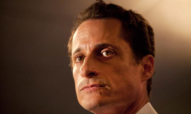 Rep. Anthony Weiner (D-NY) admits to sending a lewd Twitter photo of himself to a woman and then lying about it during a press conference at the Sheraton Hotel in New York City on June 6, 2011.
