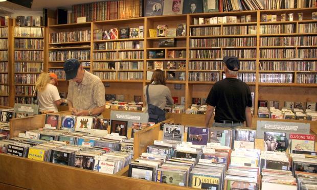 Academy Records on W. 18th Street in Manhattan