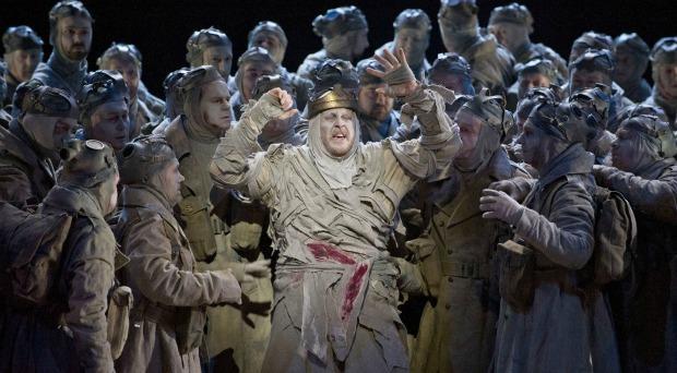 Iain Patterson as Amfortas in 'Parsifal'
