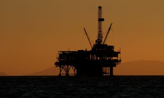 Rig, Offshore, Oil