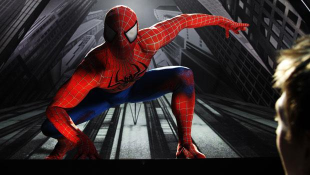 A shot from the Broadway show 'Spider-Man: Turn Off the Dark.'