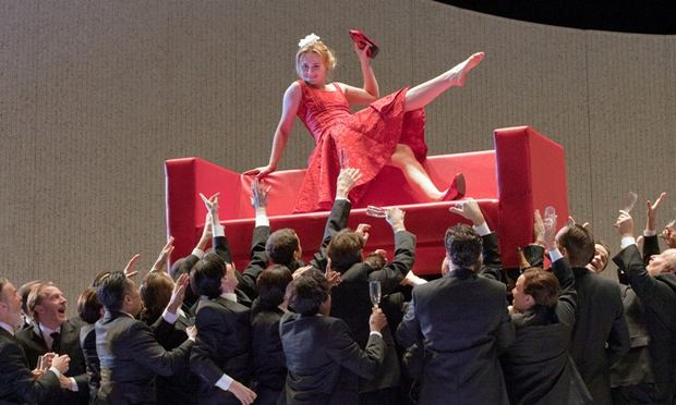 Marina Poplavskaya in Verdi's <em>La Traviata</em>