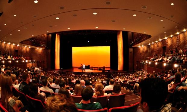 Audience at a live Radiolab show in NYC on June 18, 2011