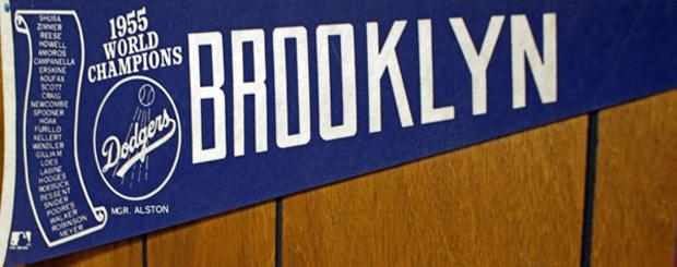 Brooklyn Dodgers pennant