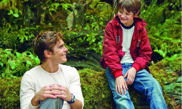 Zac Efron and Charlie Tahan in Charlie St. Cloud