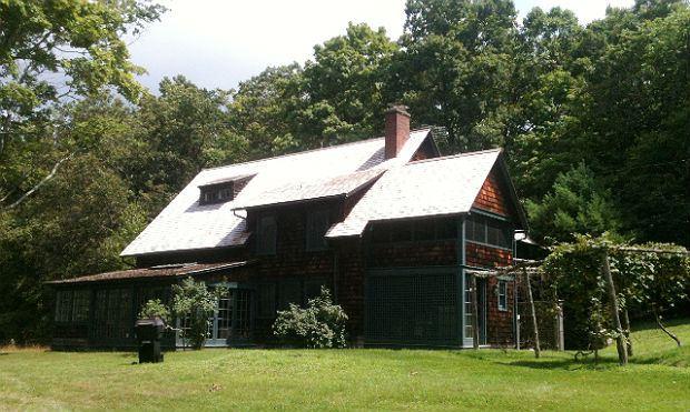 Charles Ives's former house, Redding, CT