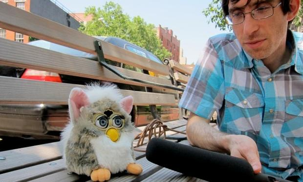 Furby with Tim Howard