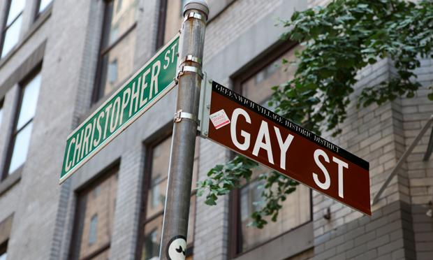 Gay Street in the West Village.