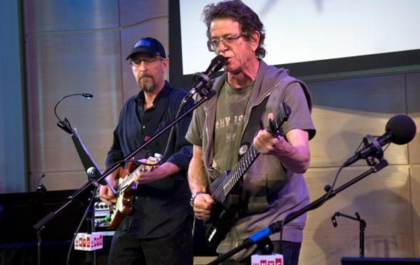 Lou Reed plays 'Romeo Had Juliette' live on Soundcheck in the Greene Space, April 29, 2013.