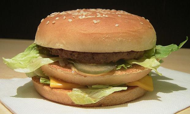 "McDonald's Japan company ""BigMac' hamburger"