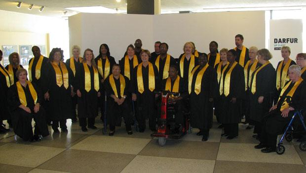 The Milwaukee Public Schools Alumni and Homeless Community Gospel Choir.