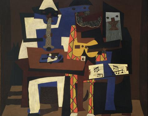 Picasso's Three Musicians (1921)
