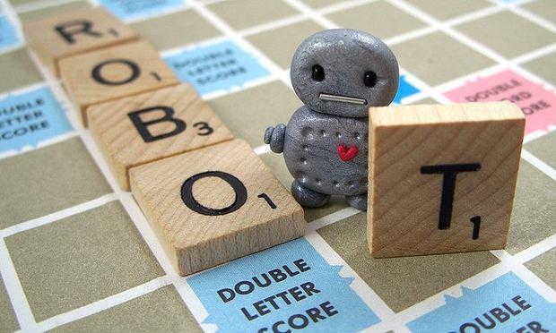 Robot Scrabble