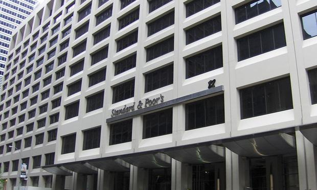 Standard & Poor's Headquarters in Lower Manhattan, New York City.