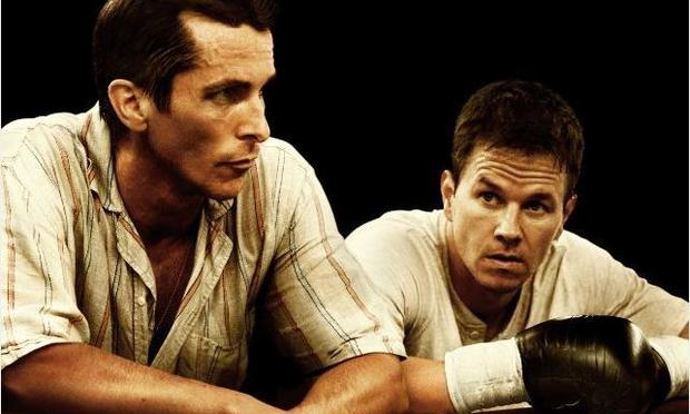 Mark Wahlberg and Christian Bale in 'The Fighter'