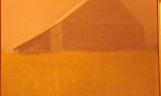 Leining Barn painting