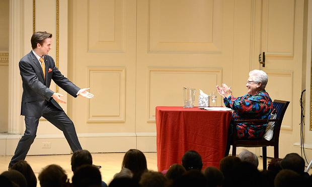 Marilyn Horne gives a master class on Jan. 13, 2014 in Weill Recital Hall