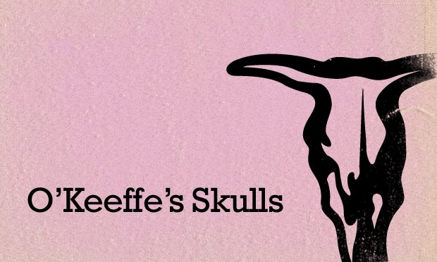 Georgia O'Keeffe's Cow Skulls feature card