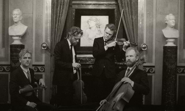The Danish String Quartet.