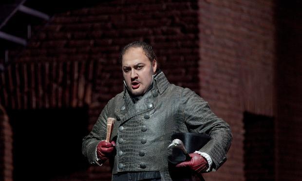 George Gagnidze as Scarpia in Puccini's 'Tosca.'