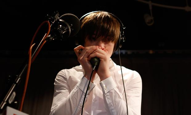 The Strypes perform in the Soundcheck studio.