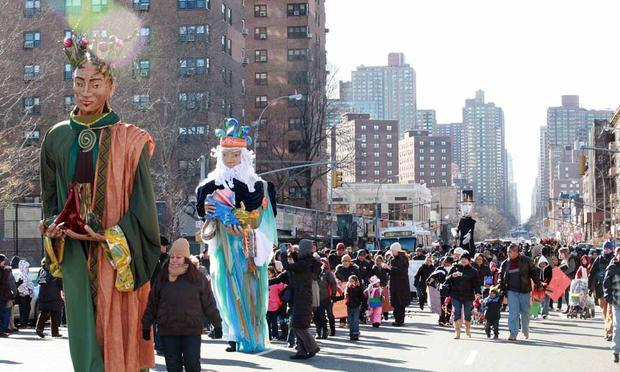 El Museo del Barrio's Three Kings Day Parade. (2010)
