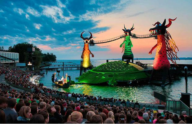 Mozart's 'The Magic Flute' will be staged in a production by David Pountney at the Bregenz Festival in Austria starting July 24.
