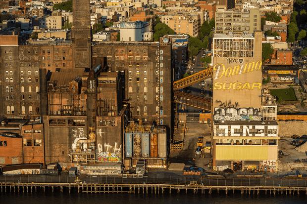 Domino Sugar factory in Brooklyn