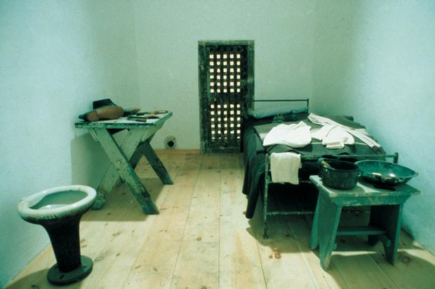 Restored Cell at Eastern State Penitentiary