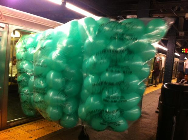 This May Be The Largest Item Ever Carried On A Nyc Subway