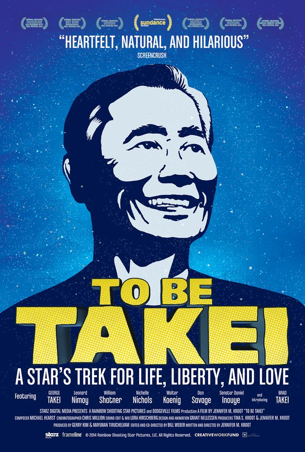 'To be Takei,' a documentary about actor and activist George Takei, released in 2014
