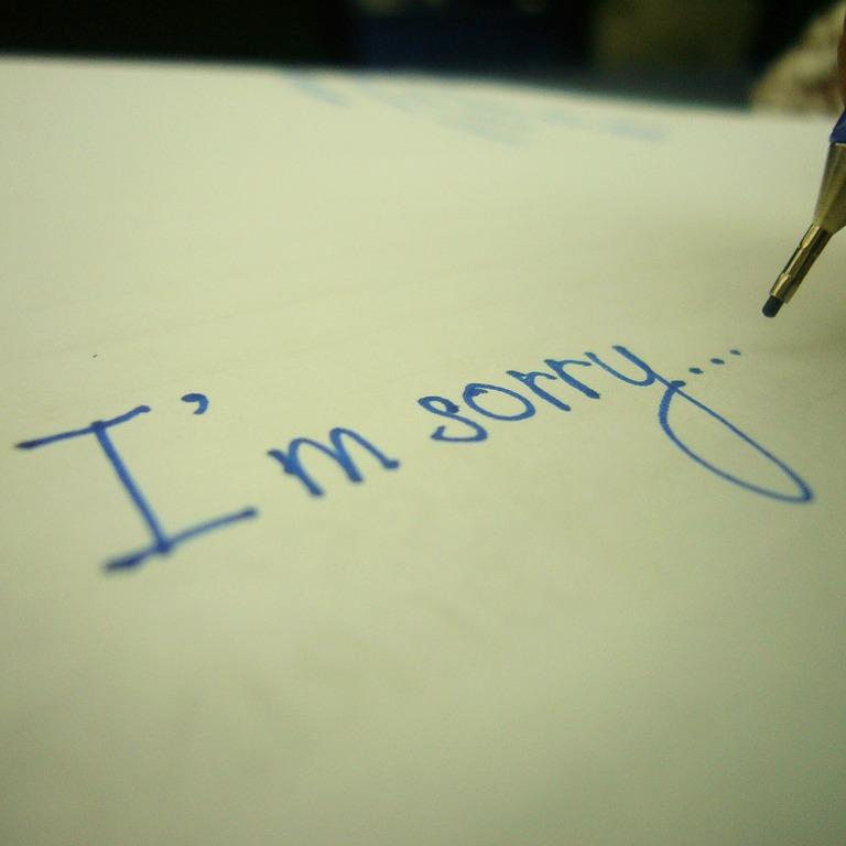 So Sorry: Seven Steps To Better Apologies | The Brian Lehrer Show | WNYC
