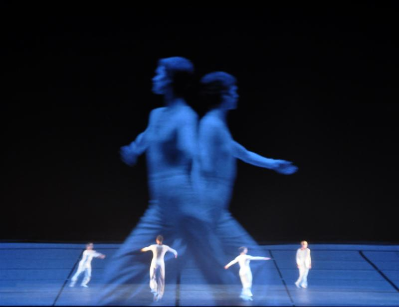 "Lucinda Childs Dance Company in ""Dance"" (2009) by Lucinda Childs."