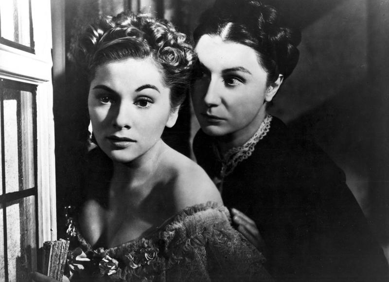 Joan Fontaine and Judith Anderson in Alfred Hitchcock's 'Rebecca'