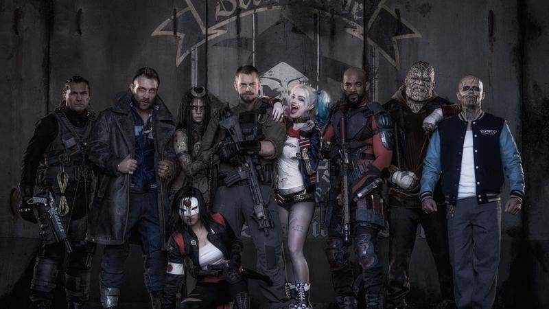From the 2016 film 'Suicide Squad.'