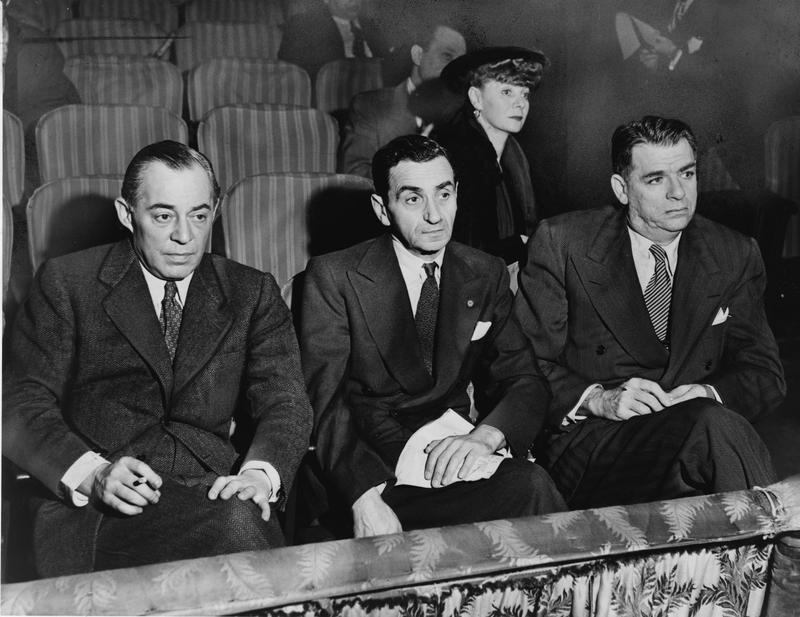 (left to right) Richard Rodgers, Irving Berlin and Oscar Hammerstein II