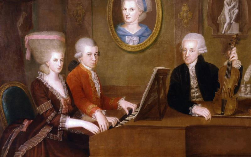 A Mozart Family Portrait from 1780