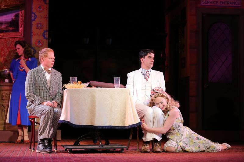 Jesse Tyler Ferguson and Hamish Linklater star in <em>The Comedy of Errors</em> at The Public Theater's Shakespeare in the Park.