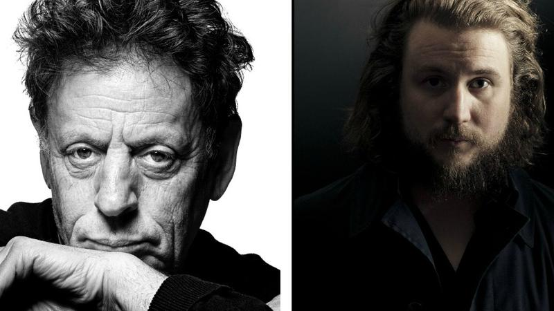 Philip Glass will use @Soundcheck to ask his questions, while Jim James will tweet from @JimJames