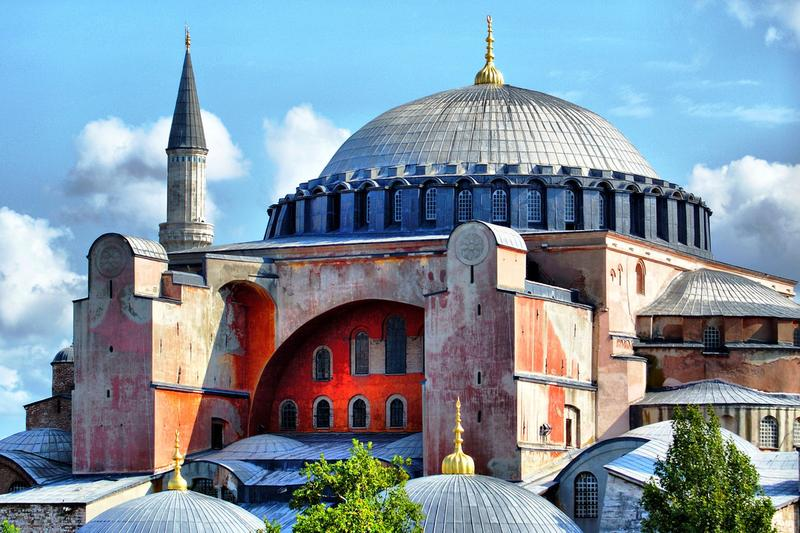 "Istanbul's Hagia Sophia. The music once sung here is the subject of ""Icons of Sound"""