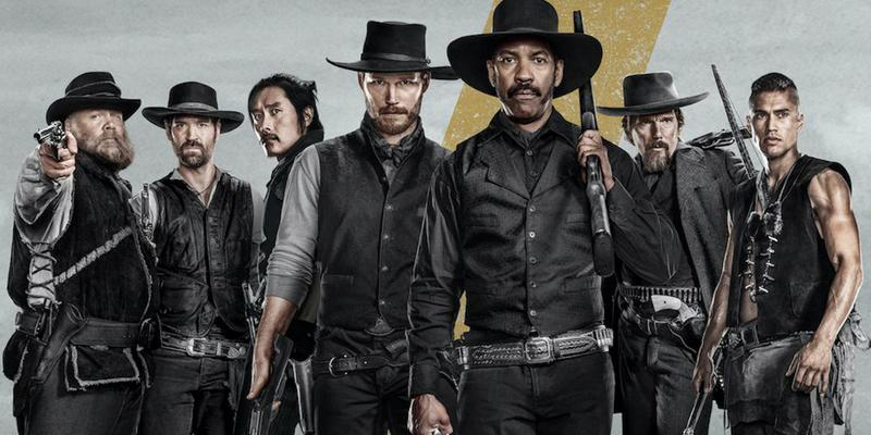 "Image for the 2016 film ""The Magnificent Seven."""
