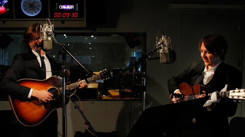 The Milk Carton Kids performs live in the Soundcheck studio.